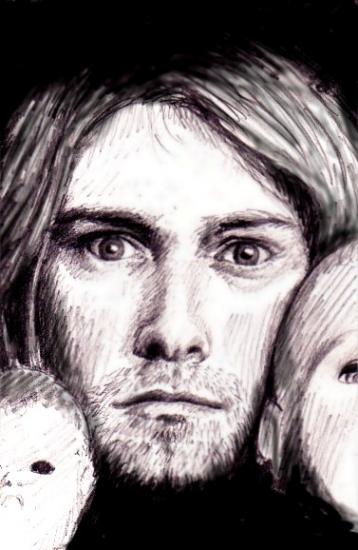 Kurt Cobain by S-rof